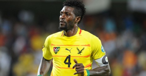 Emmanuel Adebayor: Could make Eagles debut from bench on Saturday