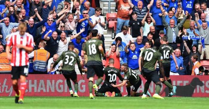 Everton: Celebrate Ross Barkley's goal at Southampton