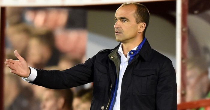 Roberto Martinez: Expects difficult match at the Etihad Stadium