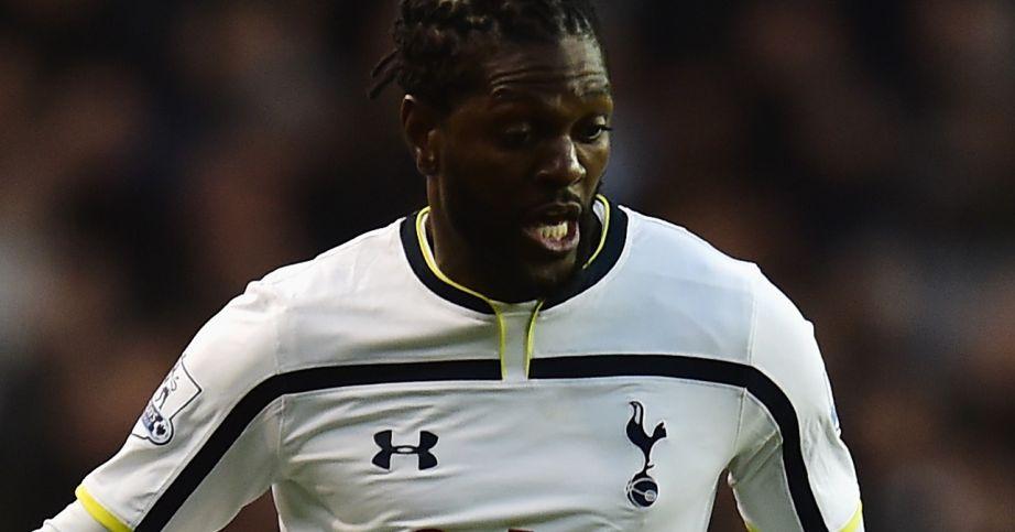 Emmanuel Adebayor: A free agent after leaving Tottenham