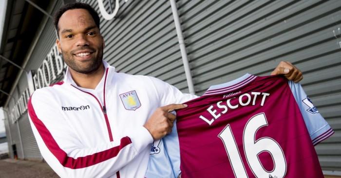 Joleon Lescott: Has joined Aston Villa from West Brom