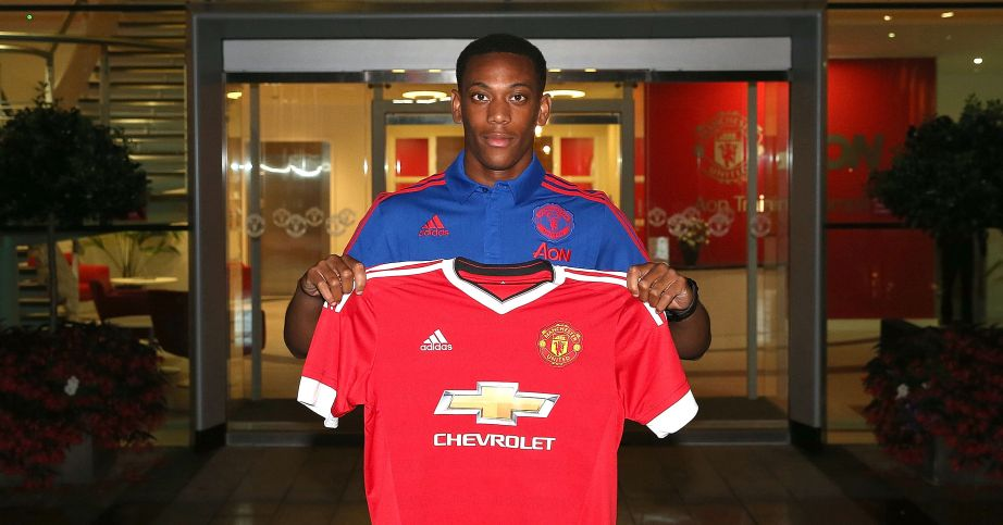Anthony Martial: Joined Manchester United on deadline day