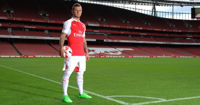 Jack Wilshere: Only a reserve player for Arsenal?