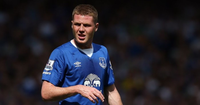 James McCarthy: Signed new five-year contract at Everton