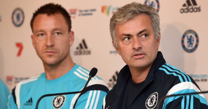 Jose Mourinho: Denies souring relationship with John Terry