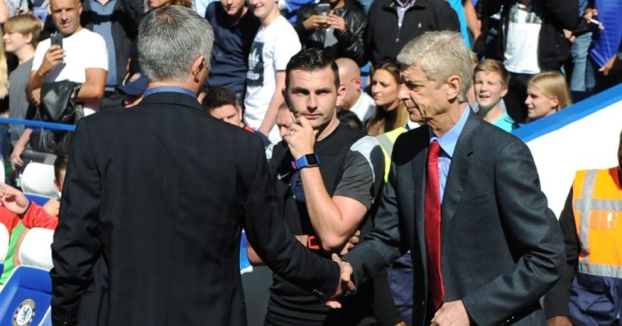 Jose Mourinho: Chelsea boss suggests Arsenal counterpart Arsene Wenger gets preferential treatment