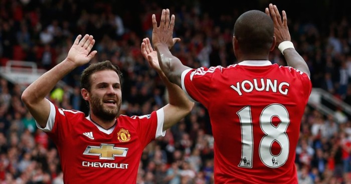 Juan Mata and Ashley Young: Looking forward to Manchester United's game against Wolfsburg