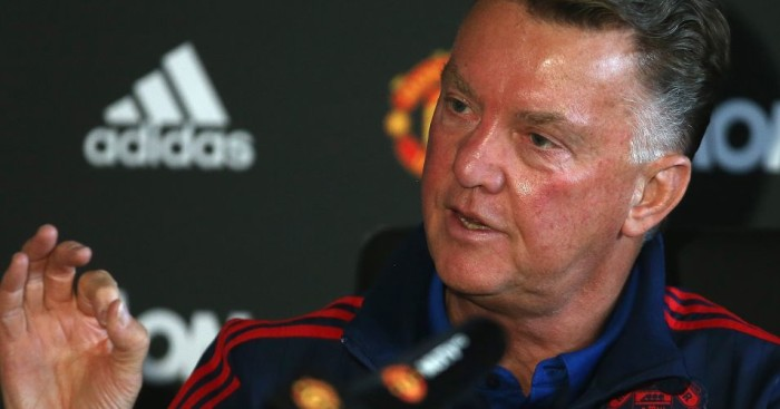 Louis van Gaal: Turns focus towards Manchester derby