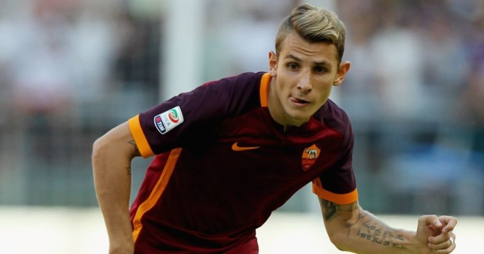 Lucas Digne: Was linked with Liverpool before joining Roma on loan