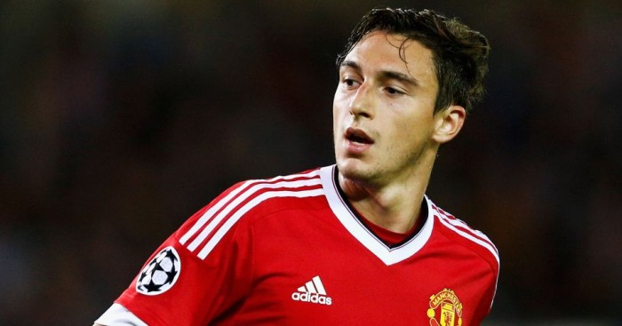 Matteo Darmian: Signed for United last summer
