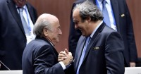 Michel Platini and Sepp Blatter: Both suspended
