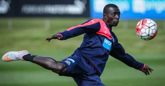 Papiss Cisse: Reportedly failed to attend Newcastle meeting