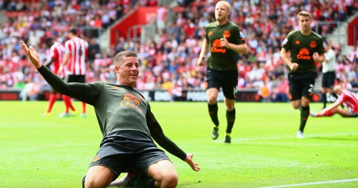Ross Barkley: Everton midfielder has returned to form this season.