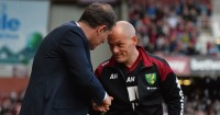 Slaven Bilic and Alex Neil : Mixed emotions for West Ham and Norwich City managers