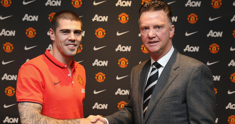 Victor Valdes: Fell foul of Louis van Gaal