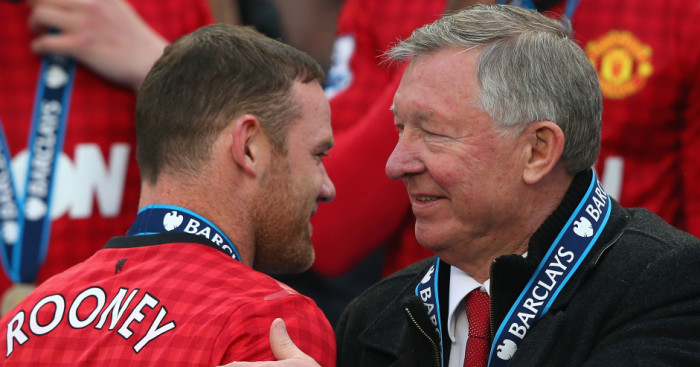 Wayne Rooney: Calls Sir Alex Ferguson the greatest of all time