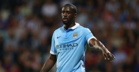 Yaya Toure: Should return for Manchester City against Aston Villa