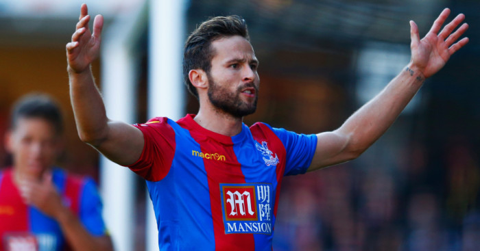 Yohan Cabaye: Crystal Palace midfielder suspended against Chelsea