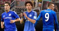 Hazard, Sane & Vardy: All in the news