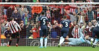 Adam Johnson: Converts Sunderland's penalty against Newcastle