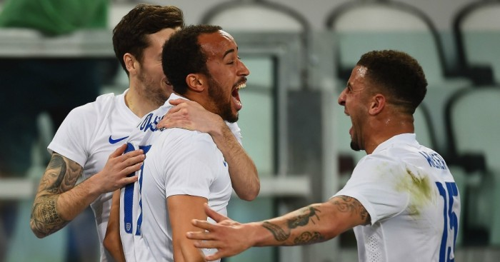 Andros Townsend: Left out of England's latest squad