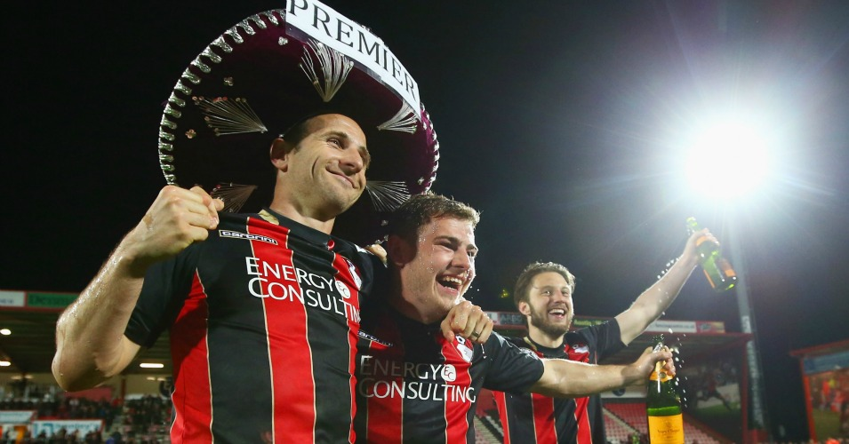 Bournemouth: Celebrate promotion to the Premier League
