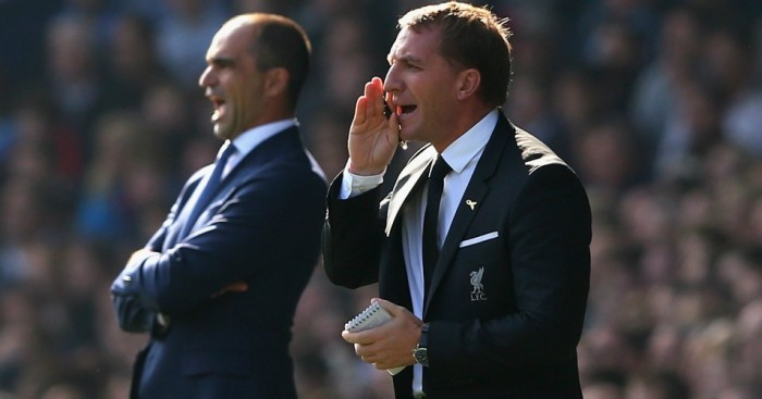 Brendan Rodgers: Led Liverpool to a draw at Everton
