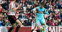Carl Jenkinson: Scores West Ham's first in the 2-2 draw at Sunderland