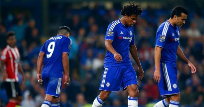 Loic Remy and Pedro: Look dejected during latest Chelsea defeat