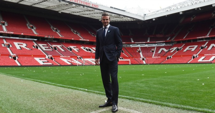 David Beckham: Not worried about Manchester United's future