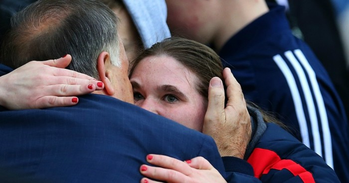 Dick Advocaat: Greeted by a Sunderland fan ahead of Saturday's game with West Ham