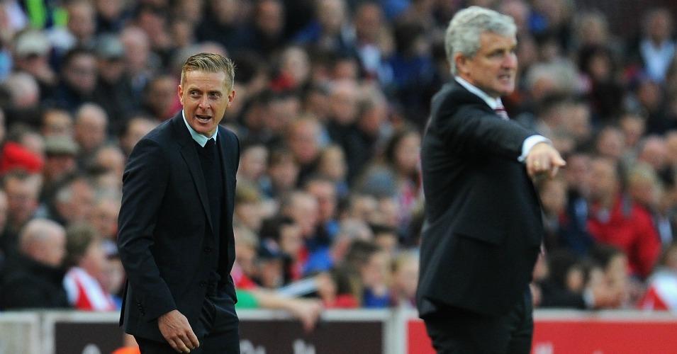 Garry Monk: Swansea face Stoke on Monday