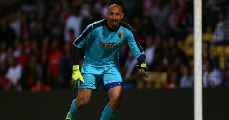 Heurelho Gomes: Made two costly errors in defeat at Leicester