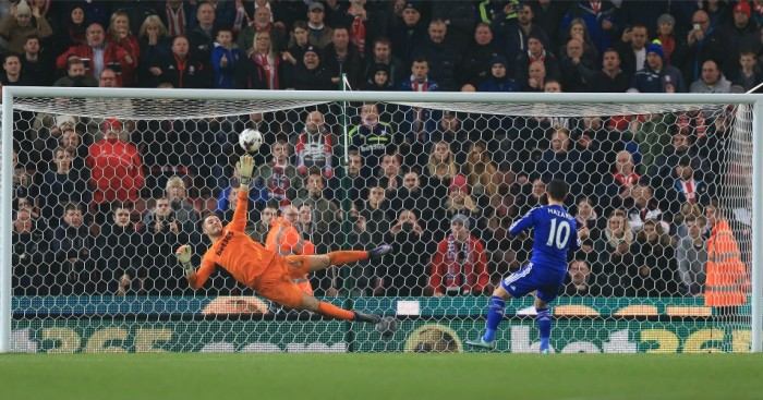 Jack Butland: Saved Eden Hazard's penalty in midweek