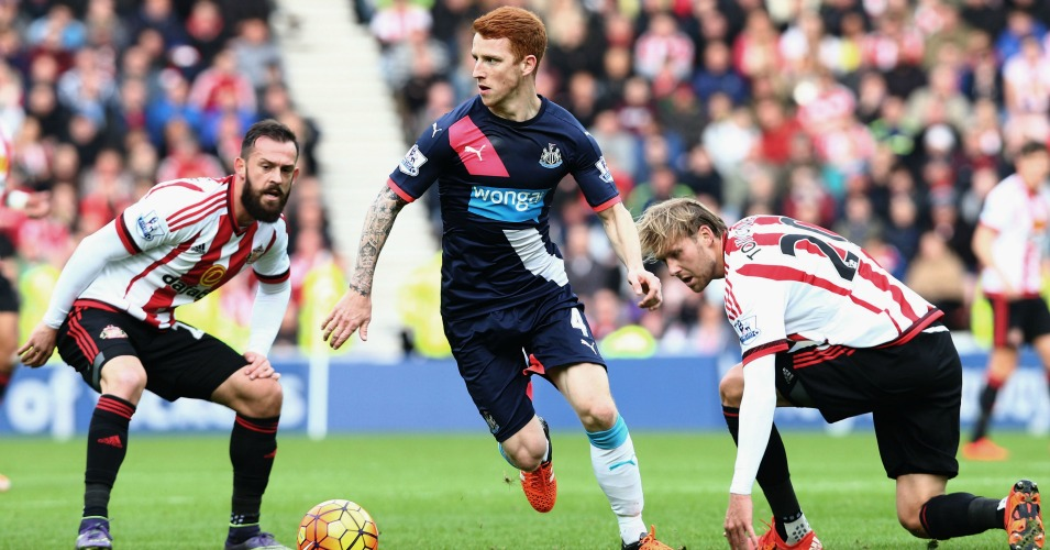 Jack Colback: Injured during Newcastle United's defeat at Sunderland