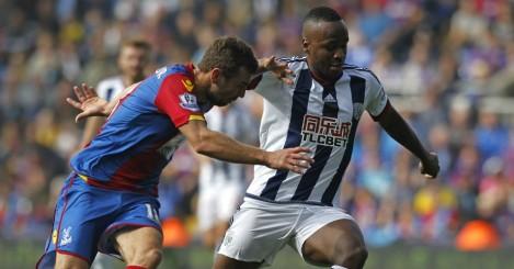James McArthur: West Brom midfielder challenges West Brom striker Saido Berahino