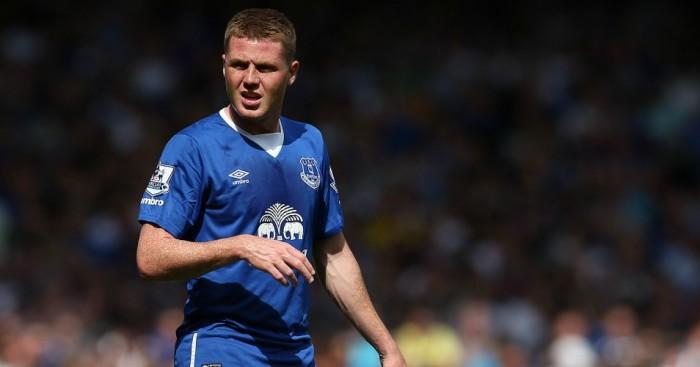 James McCarthy: Midfielder confident Everton can make top four