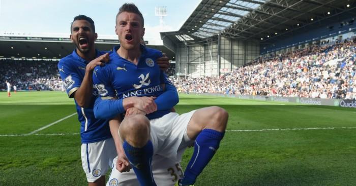Riyad Mahrez and Jamie Vardy: Won't leave Leicester City in January