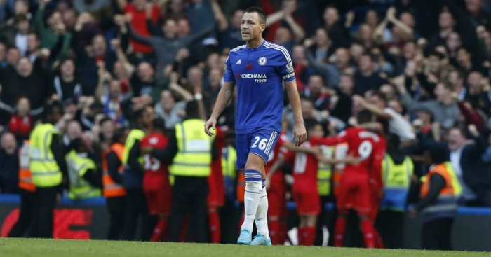 John Terry: Defender looking a shadow of his former self