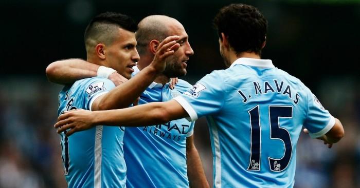 Pablo Zabaleta: Backing Sergio Aguero to return to top form