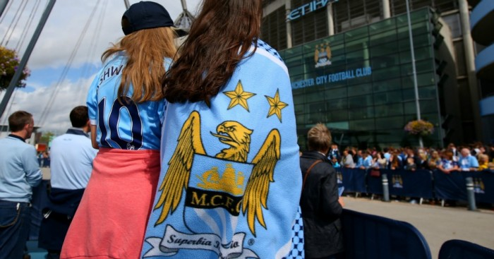 Manchester City fans TEAMtalk