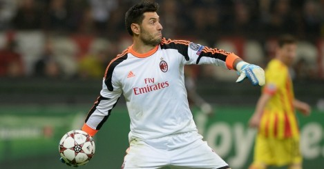 Marco Amelia: Joins Chelsea until the end of the season