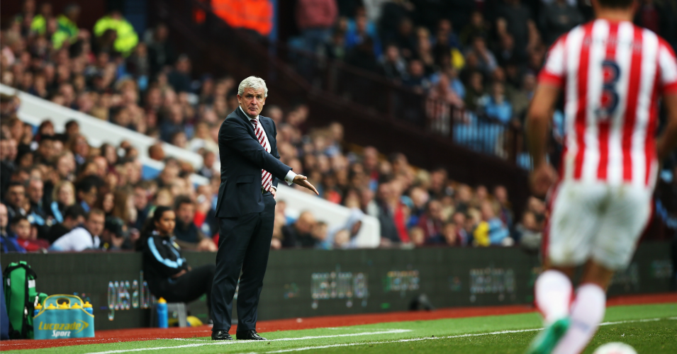 Mark Hughes: Stoke City manager wants positive approach