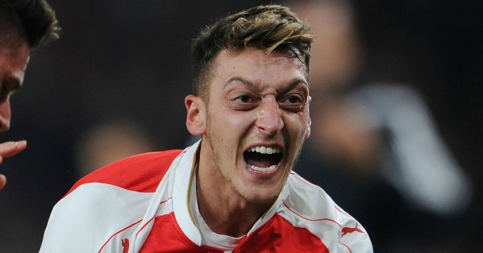 Mesut Ozil: Could be moving north to Manchester