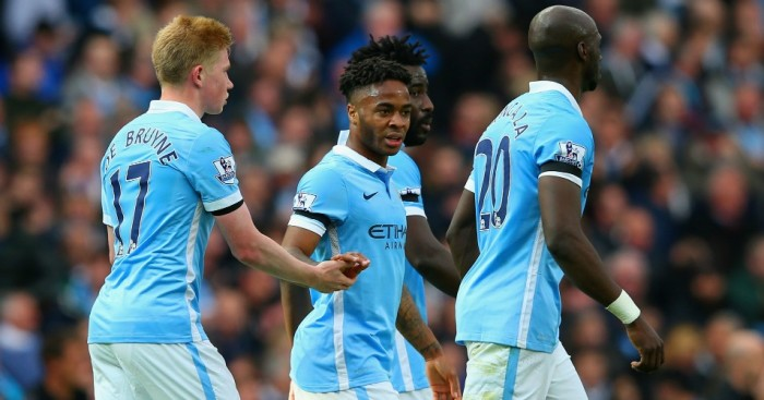Raheem Sterling: Scored a hat-trick for Manchester City at the weekend