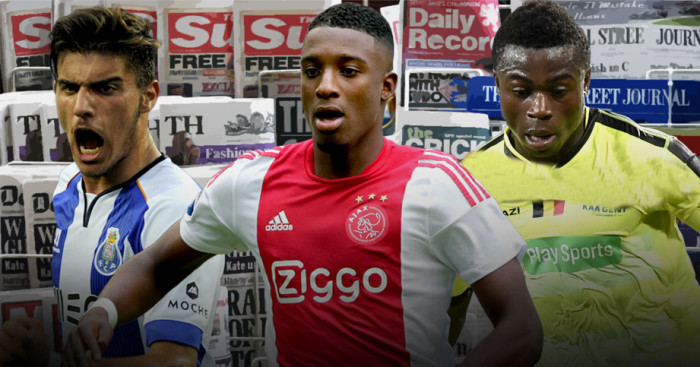 Reuben Neves, Riechedly Bazoer and Moses Simon in the news