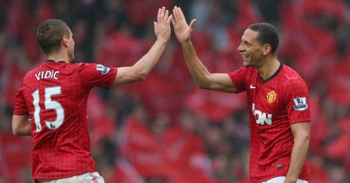 Rio Ferdinand: Defender says he and Nemanja Vidic were rarely praised