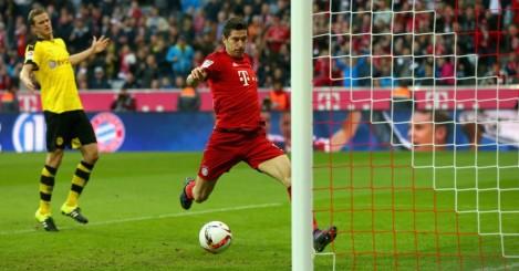 Robert Lewandowski - Bayern Munich striker has 15 goals in six matches