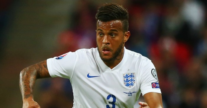 Ryan Bertrand: Started for England against Estonia on Friday