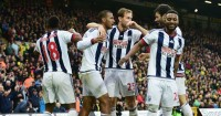 West Brom: Celebrate Salomon Rondon's winner at Norwich